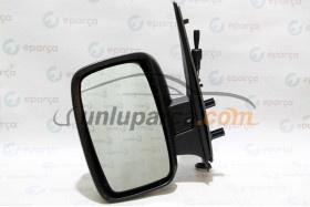 Scudo 2007-2016 Ecofix Marka Mekanik Sol Dış Dikiz Aynası | Ünlüoto Yedek Parça